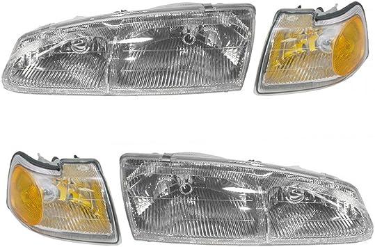 Headlight Headlamp RH Right Passenger Side for 02-05 Ford Thunderbird