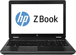 HP Zbook 15 Intel i7-4800HQ, 16GB Memory, 256GBSSD, 15.6in Screen, 1920x1080, Win 10 Pro(Renewed)