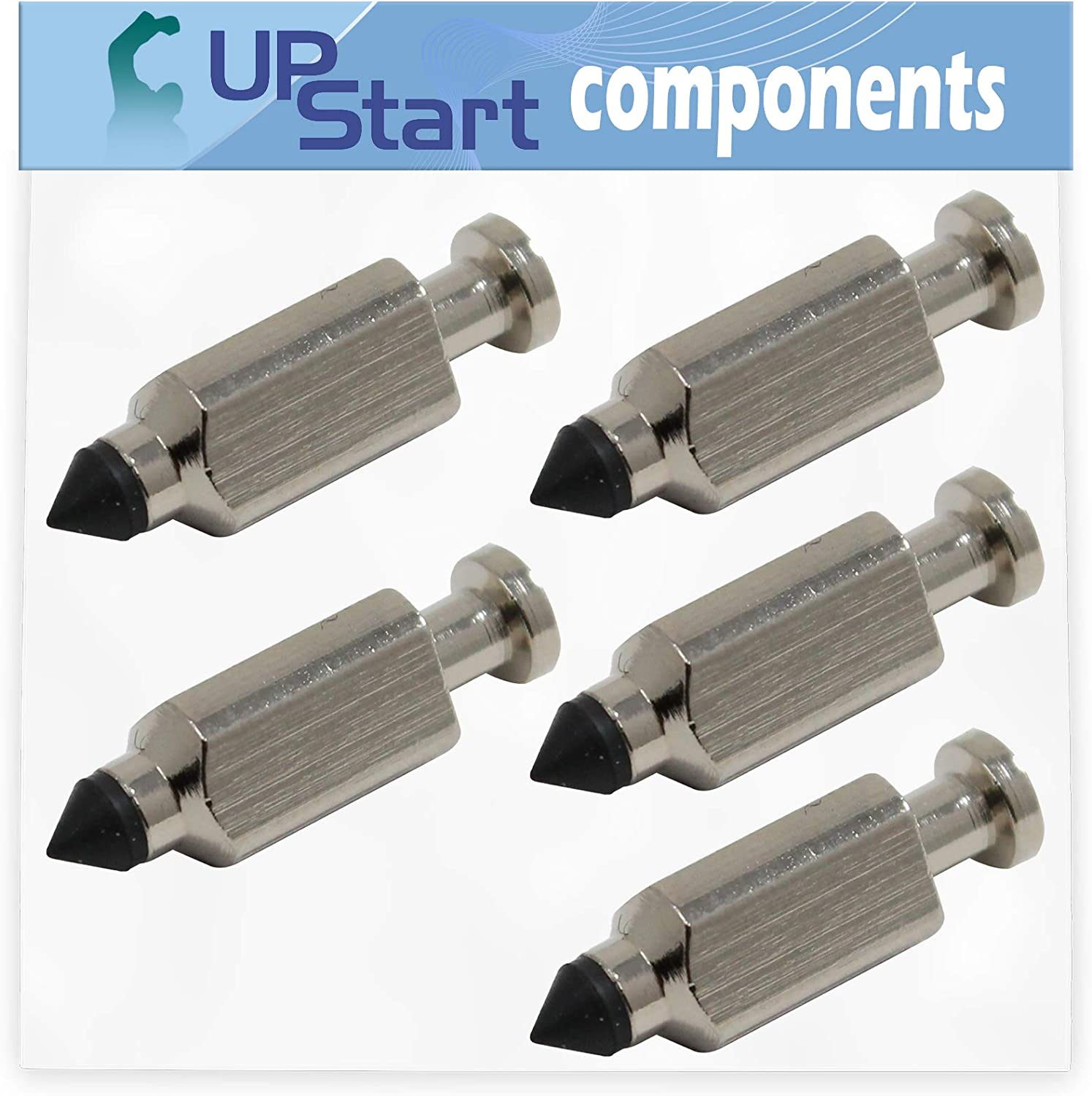 WAM Wide Area Mower Compatible with 231855 Carburetor Float Valve UpStart Components 5-Pack 231855S Float Needle Valve Replacement for Cub Cadet G1236 55AC5GMR050