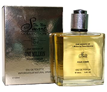 Amazoncom Perfume One Million For Men 34 Oz Edt Smart Collection