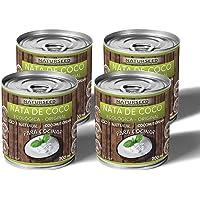 Naturseed - Nata de coco ecológica Original para cocinar, sin lactosa, sin aditivos, ni conservantes, 100% natural. Nata…