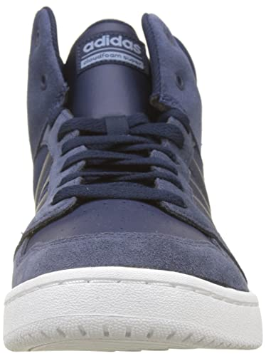 new product 86bf9 2e823 adidas Mens Cloudfoam Super Hoops Mid Hi-Top Trainers Amazon.co.uk Shoes   Bags