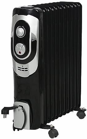 El Fuego® móvil eléctrico de aceite/eléctrico – Radiador eléctrico, con 11 Elementos