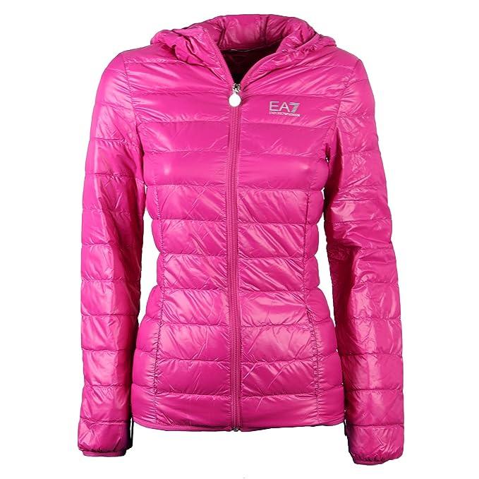 Emporio Armani - Abrigo - para Mujer Fucsia S: Amazon.es: Ropa y accesorios