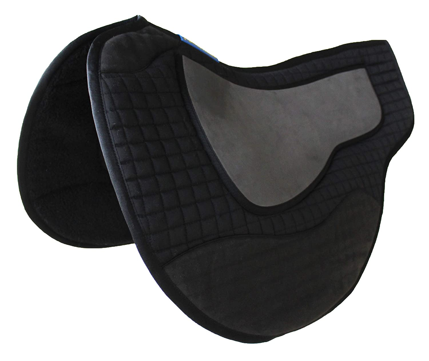 Black Horse Saddle PAD Western Quilted Endurance Barrel Contoured 39185