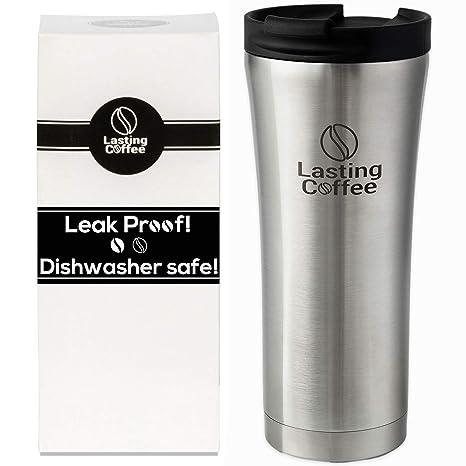 Amazoncom Lasting Coffee Leak Proof Dishwasher Safe Double Wall