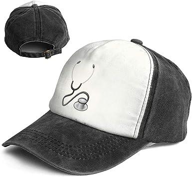 Medical Tools Man Vintage Baseball Cap Unisex Adjustable Baseball Hats Dad Hat Black
