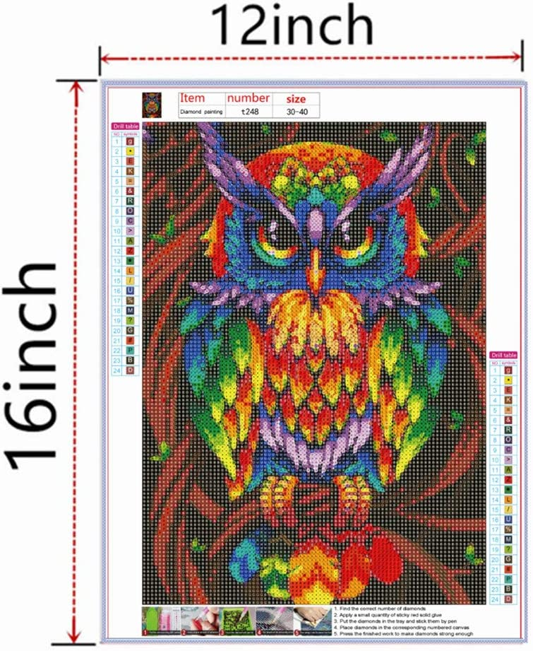by Number kit handicrafts 12x16 inches Painting Cross Stitch Full Diamond Crystal Rhinestone Embroidery Pictures DIY 5D Diamond Painting Season Tree