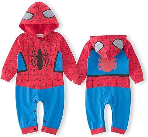 Mameluco infantil de Spiderman, conjunto encantador, pijama ...