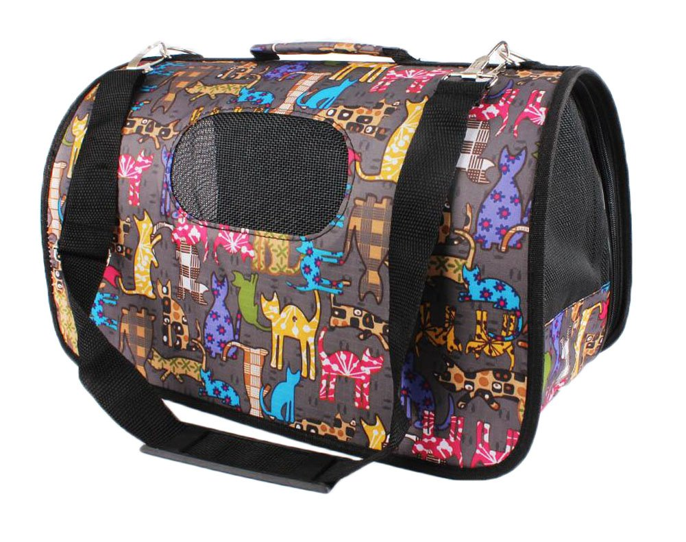 Pet Carrier Travel Portable Bag for Dogs and Cats