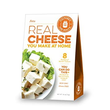 Feta Cheese Starter Culture   Cultures for Health   Tangy, delicious homemade cheese, no