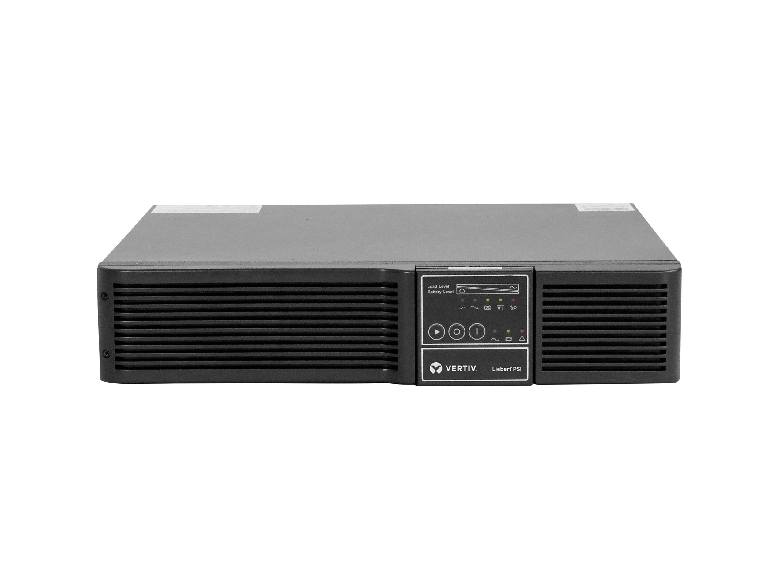 Liebert 1500VA 1350W 120V Advanced AVR Line-Interactive UPS with Extended Runtime, IS-WEBRT3 Card, Pure Sine Wave, SNMP/HTTP Enabled, 2U Rackmount/Tower, Supports Active PFC (PS1500RT3120XRW)