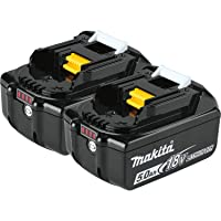 Deals on 2-Pack Makita BL1850B-2 18V LXT Lithium-Ion 5.0Ah Battery