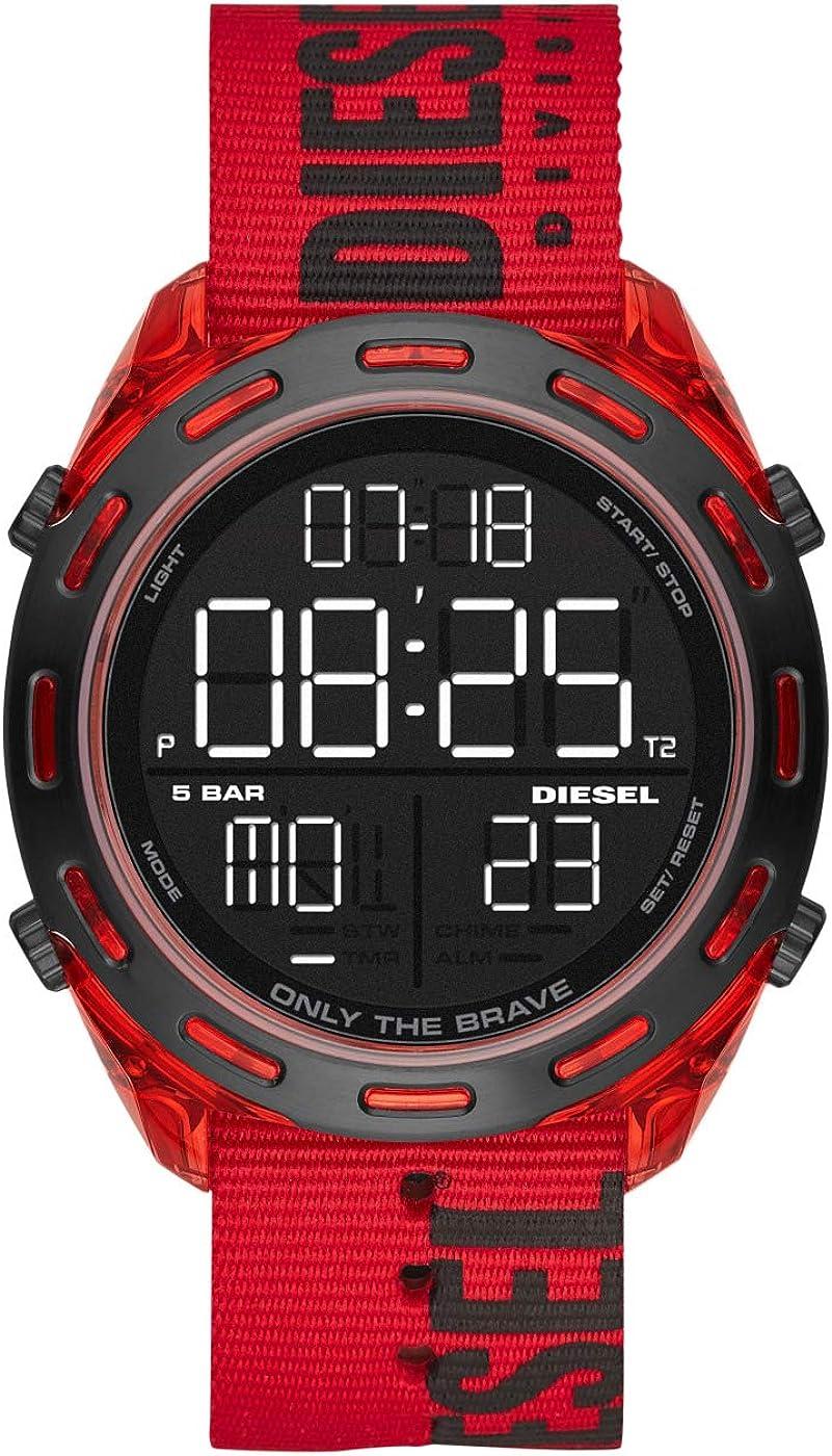 Diesel Reloj Analógico-Digital para Hombre DZ1916