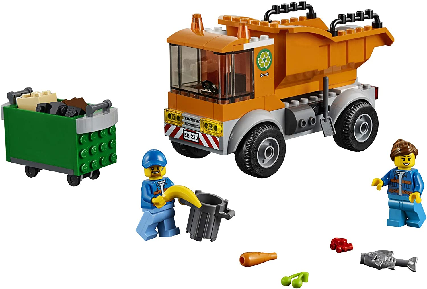 LEGO City Great Vehicles Garbage Truck 60220 Building Kit 90 Pieces