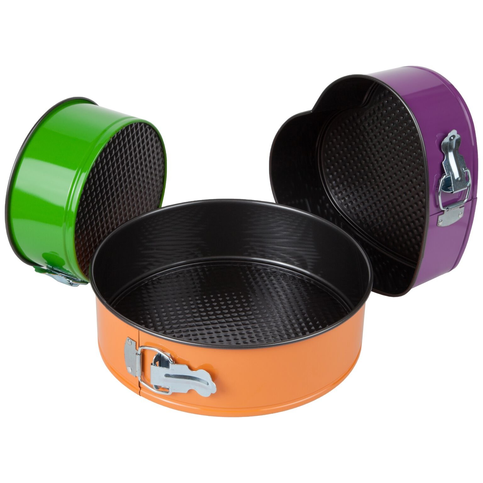 Trenton Gifts Set of 3 Springform Pans with 2 Round and 1 Heart Shaped by TRENTON (Image #4)