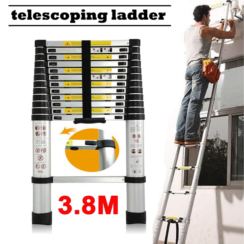 150kg Load Capacity 3 Step Steel Ladder Portable Folding Heavy Duty Anti-Slip Stepladder