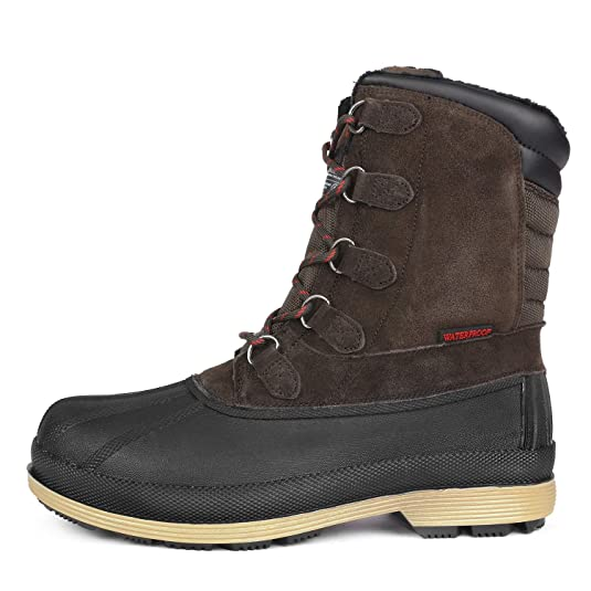 1716121e1c6 NORTIV 8 Men s 170390-M Insulated Waterproof Winter Snow Boots  Amazon.ca   Shoes   Handbags