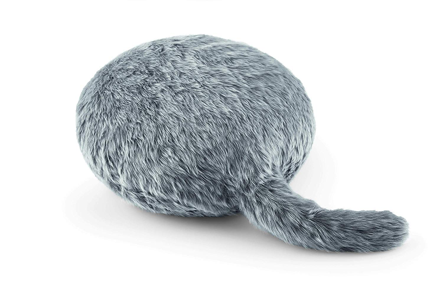 Qoobo - Therapeutic robot pillow with a tail (Husky Gray)