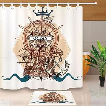 Vegvisir Viking Boussole Polychlorure de vinyle 3D ACU discrète TACTIQUE MORAL Norse Rune Crochet Patch