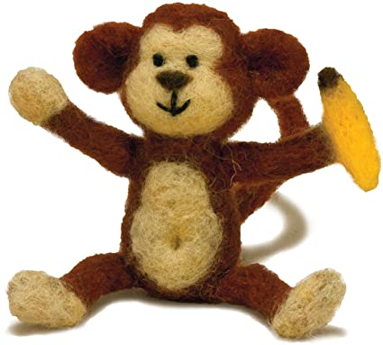 Kit de fieltro Aguja de mono