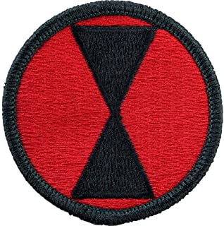 Amazon.com  7th Infantry Division Patch (Full Color (Dress))  Clothing d5545877f1f