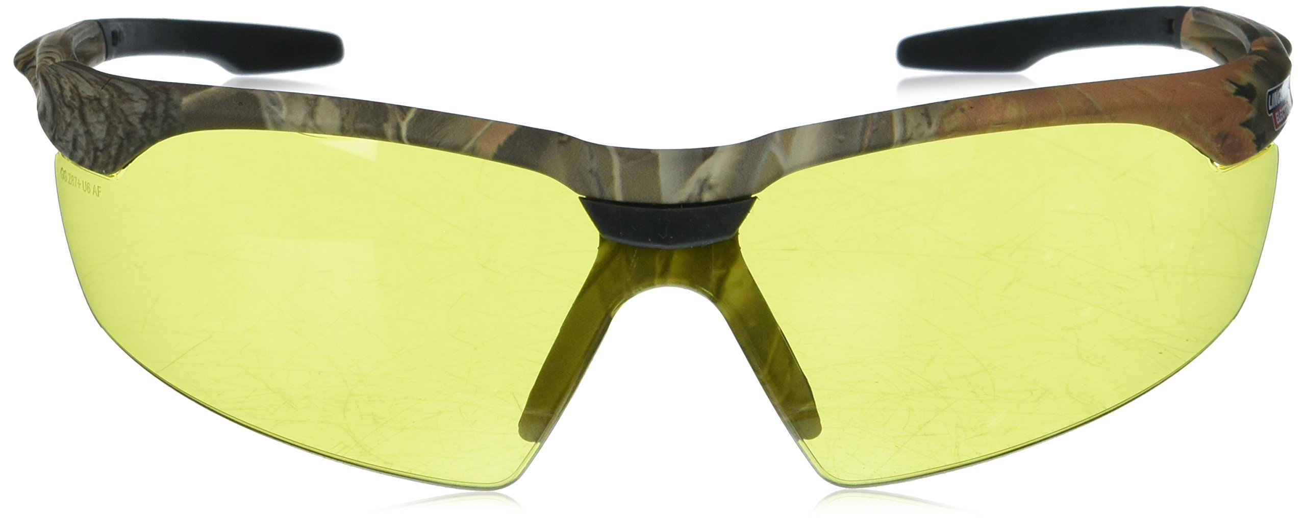LINCOLN ELECTRIC CO KH9710 Yellow Camo Safety Glasses with Amber Lenses, by Lincoln Electric (Image #2)