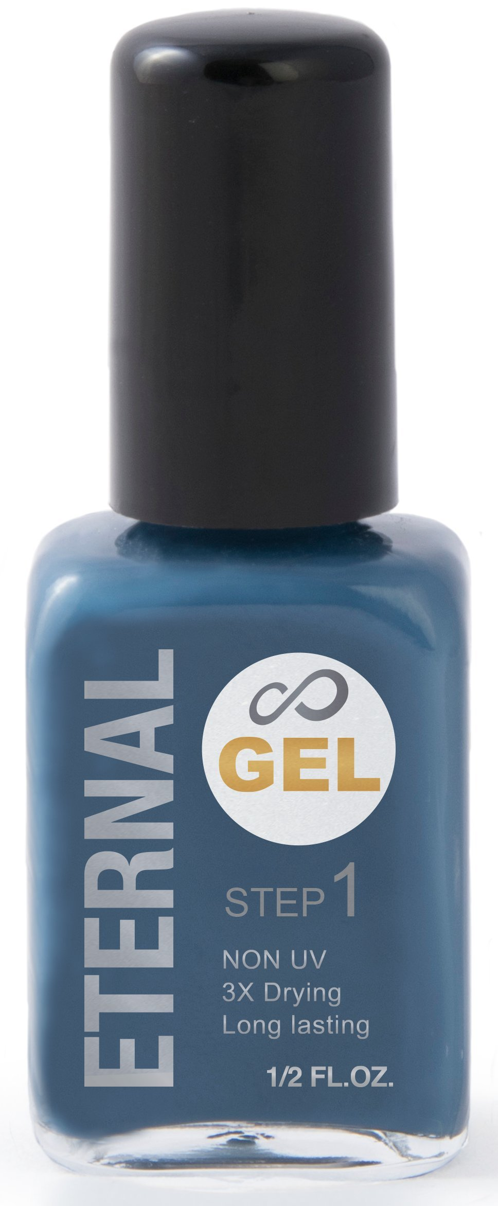 Amazon.com: Eternal Color Gel Nail Enamel Challange + Gel Top Coat ...
