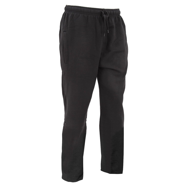 Floso Mens Casual Jogging Bottoms (Open Cuff) UTJ153_5