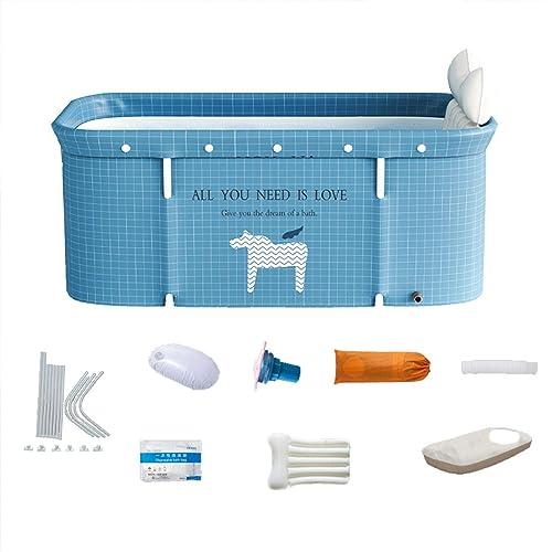 Upgraded Portable Foldable Bathtub,Eco-Friendly Soaking Bathing Tub