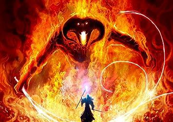 premier coup d'oeil 100% authentique acheter mieux Gandalf vs. Balrog le Seigneur des Anneaux du Seigneur des ...