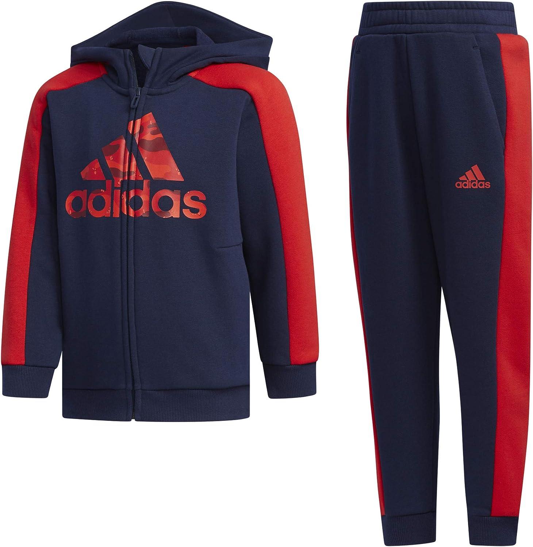 adidas LK GFX HDY Set Unisex Niños, Collegiate Navy/Collegiate ...