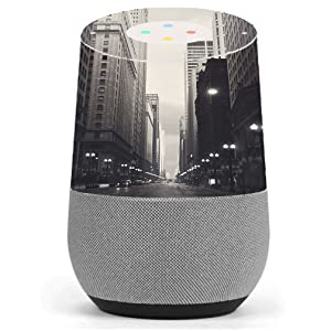 Skin Decal Vinyl Wrap for Google Home Stickers Skins Cover/City Street