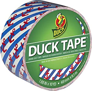 Duck 283925 Printed Duct Tape, Single Roll, Multicolor