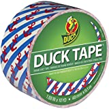 Duck Brand 283925 Printed Duct Tape, Hanker for an Anchor, 1.88 Inches x 10 Yards, Single Roll