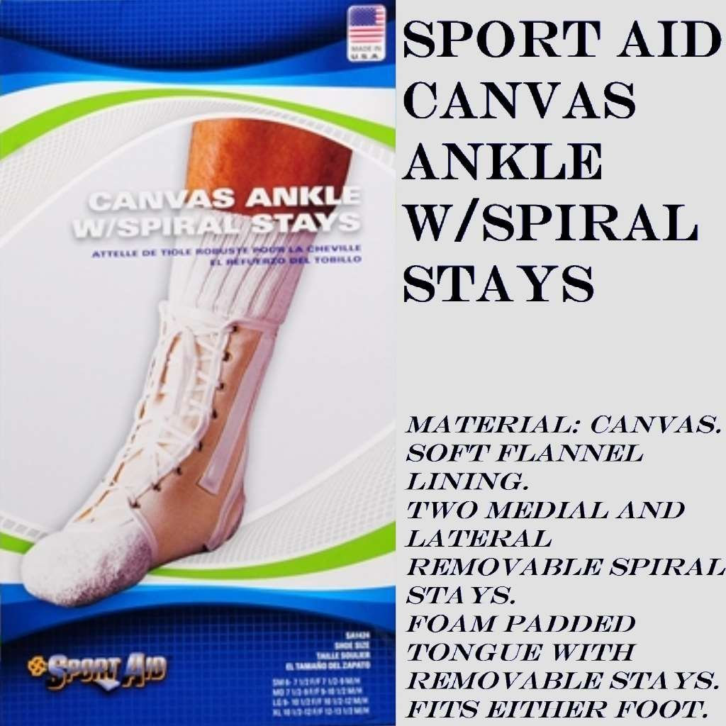 ANKLE BRACE LACE-UP SPORTAID