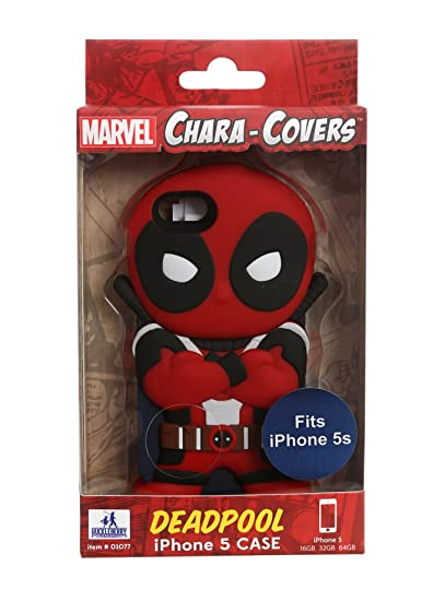 pretty nice 1656b 3e32d Marvel Chara-Covers Deadpool iPhone 5/5s Figural Case