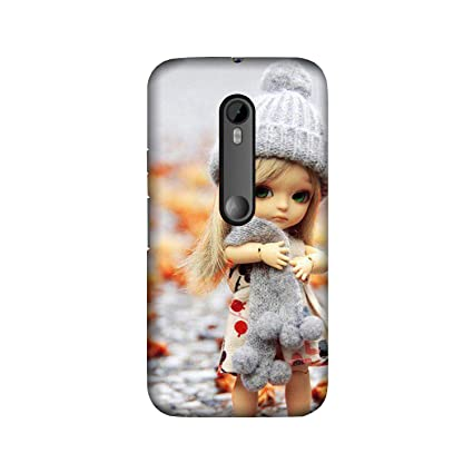 best service 00823 bb221 theStyleO Sad Doll Girls Designer Printed Back Cover for Moto G3 [Moto G  3rd Gen Cover] [For Girls]
