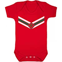 buzz shirts Baby Morocco Team Emblem Boys or Girls Football Babygrow World Cup 2018 Retro Sports