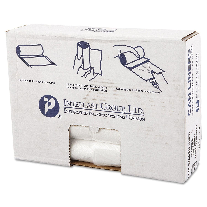 Coreless Interleaved Rolls 30 gal. Trash Bags (500 ct.) - Trash Bags