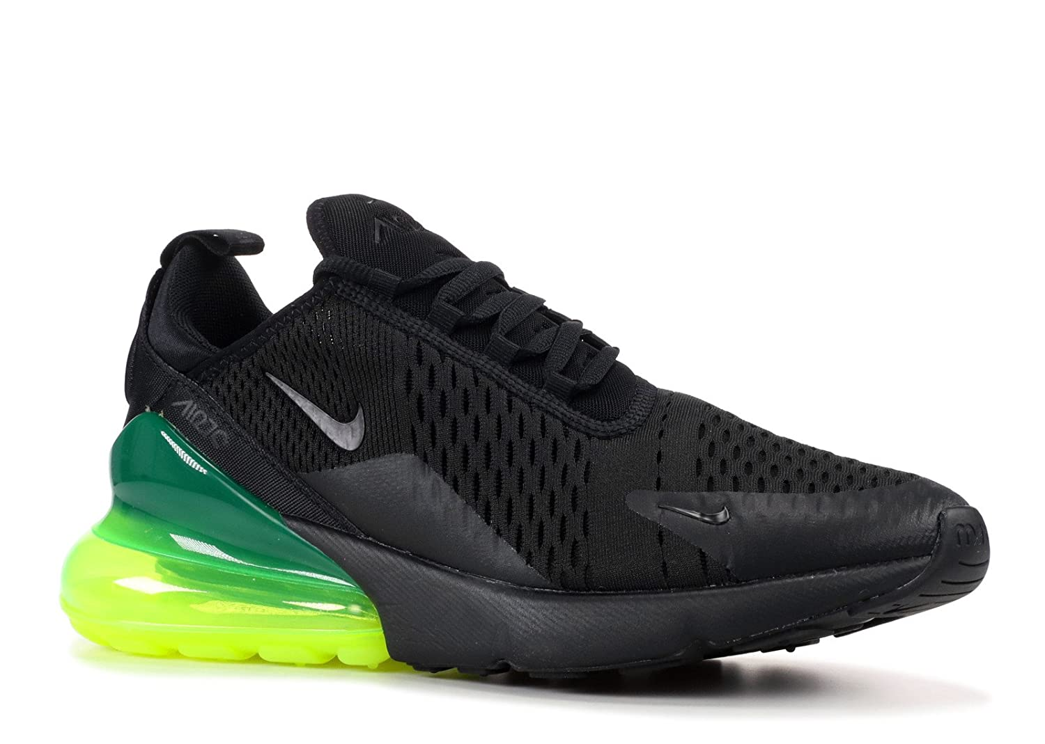 e525632b26 Amazon.com | Nike Men's Air Max 270, Black/Black-Volt | Shoes