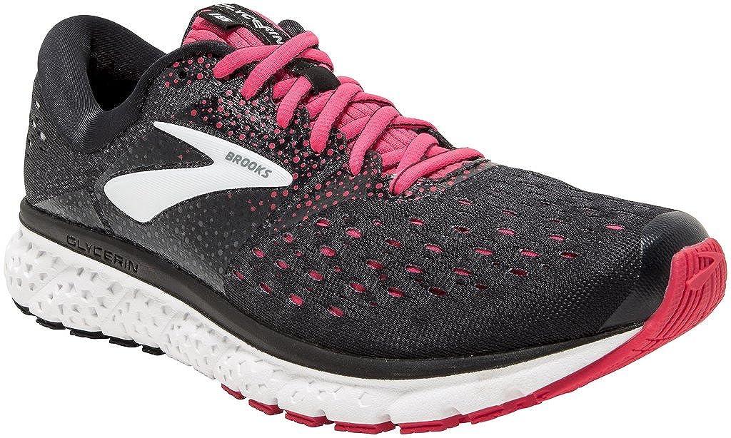 36d1acdb06cf2 Brooks Women's Glycerin 16 Black/Pink/Grey 6 AA US