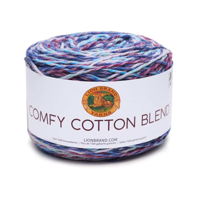 Amazon.com: Lion Brand Yarn 756-708 Comfy Cotton Blend Yarn