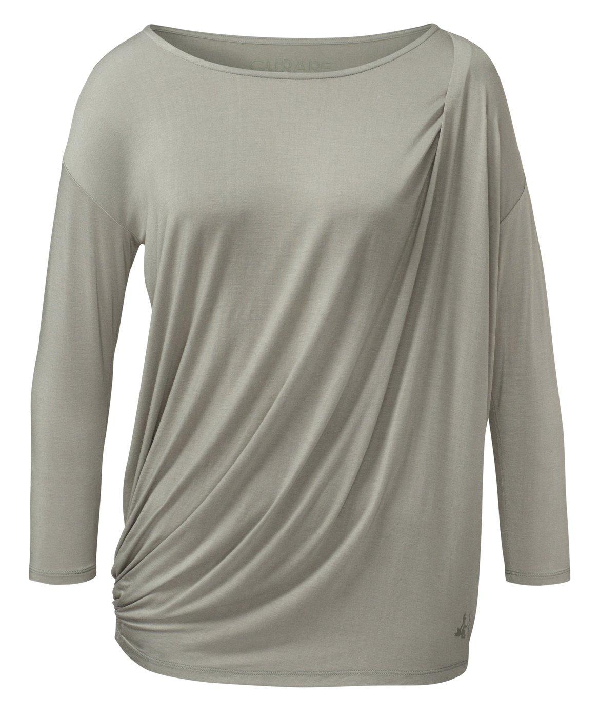 Camiseta con Toga falte - juncos Curare, verde oliva: Amazon ...