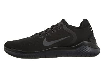 552c3d3d2830 Nike Mens Free RN 2018 Running Sneakers Black Anthracite 942836-002 (10 D