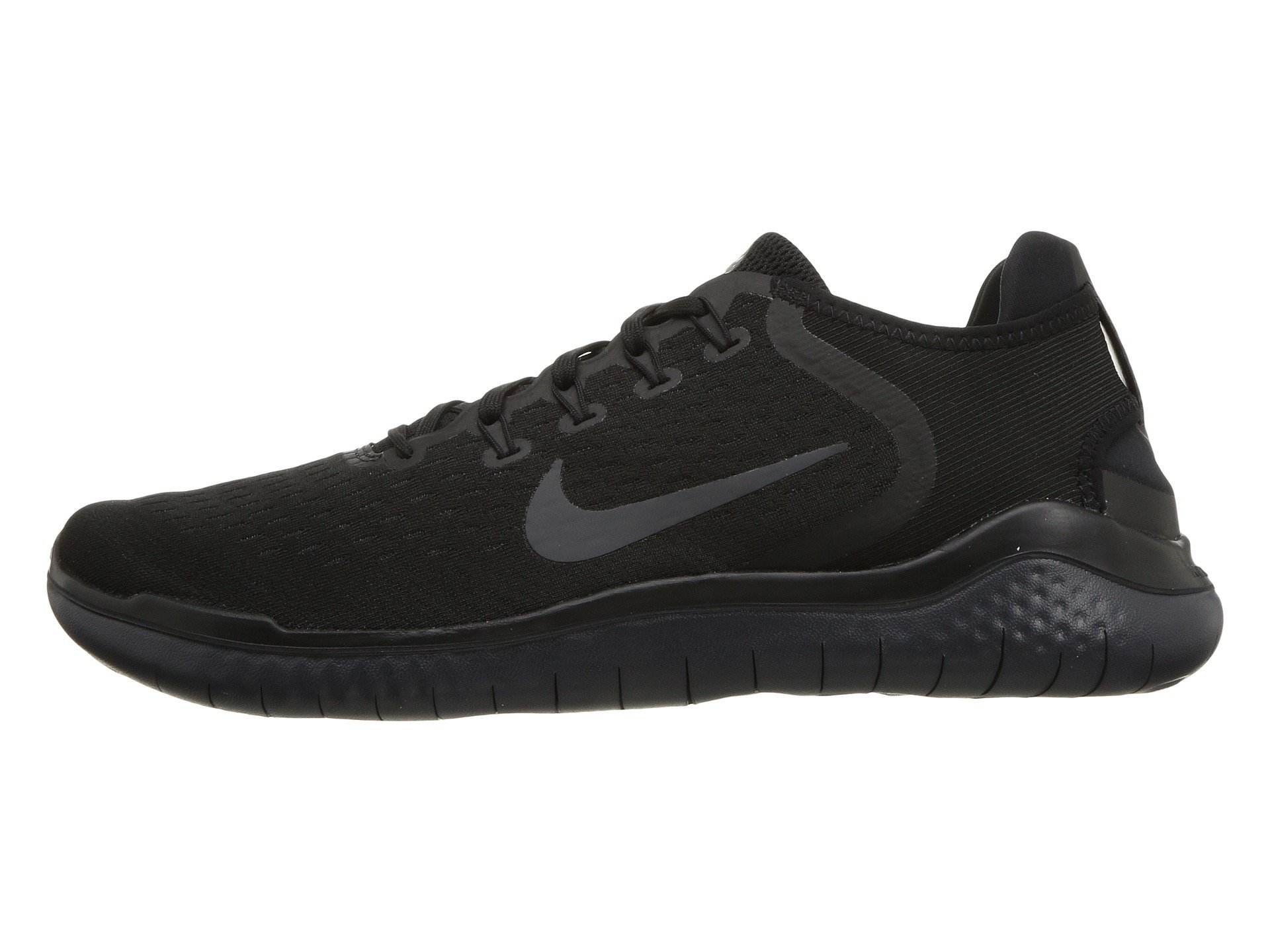 6777e50d8f22 Galleon - NIKE Mens Free RN 2018 Running Sneakers Black Anthracite 942836-002  (11 D(M) US)