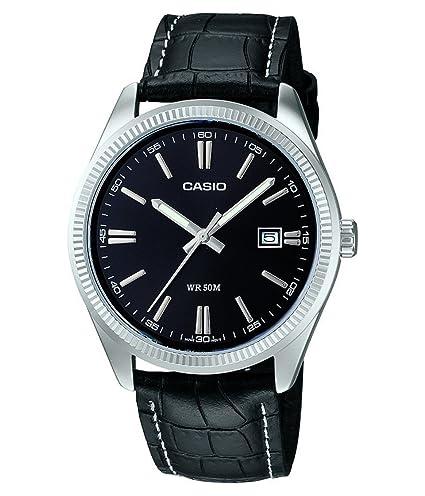5cf8dcf0b4b6 Casio Reloj de Pulsera MTP-1302PL-1AVEF  Amazon.es  Relojes