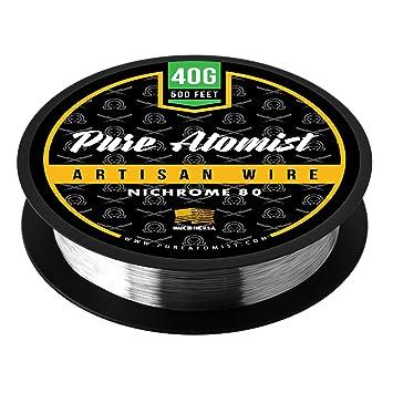 40 g – Pure atomist 40 Gauge Nichrome 80 Draht 500 \'Roll – NI80 40 ...