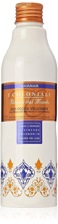 Atkinsons I coloniali Hammam Olio Doccia Alla Rosa Del Marocco E Coriandolo 250 ml