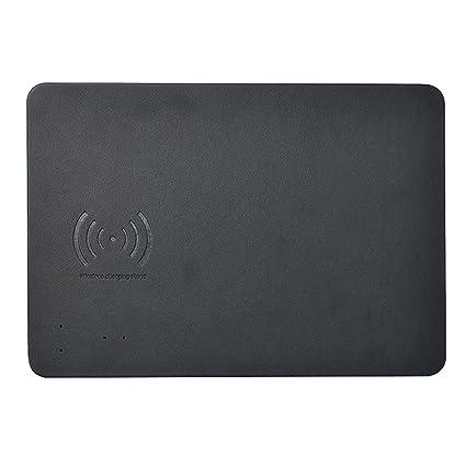 Amazon.com: XHS mouse pad/mat Qi inalámbrico cargador rápido ...